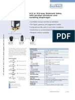 DS 0330 Data Sheet solenoide valve