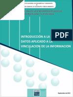 Intruducción a La Calidad de Datos Aplicado a La Vinculación de La Información