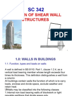 Lecture 5- ShearWalls