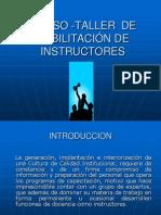 Curso Taller de Formacion de Instructores