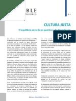 Cultura Justa - Lo No Punitivo y Lo Disciplinario - Seguridad Del Paciente