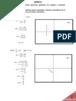 Ecuacion de La Recta y Sistema de Ecuaciones