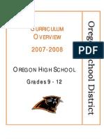 Outcomes9-12Oregon School District