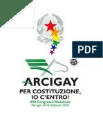 Verbale XIII Congresso Nazionale Arcigay