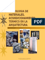 MATERIALES ACONDICIONAMIENTO AMBINETAL
