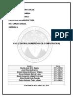 CNC y propiedades