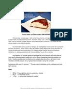 Como Hacer Cheesecake SIN HORNO(1)