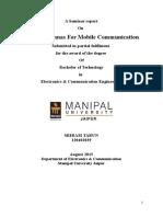 Smart Antennas For Mobile Communication