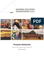 Proyecto Shahuindo Estudio de Impacto Ambiental y Social, Diciembre 2012