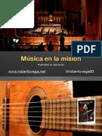 Música para la Misión | Taller para Nightfever