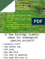 Biological Diversity ppt #1