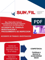 Sunafil Investigación de Accidentes