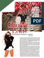 Entrevista Claudia Leitte - Revista ZZZ