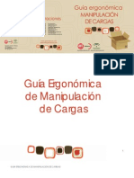Guía Ergonómica de Manipulación de Cargas