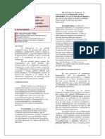 Articulo. LUMBALGIA y Ttto Homeopatico Dr. Daniel Cuadra