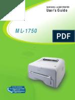 ML1750_English User Manual