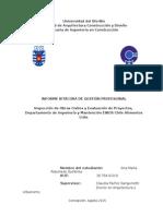 Informe bitácora práctica profesional