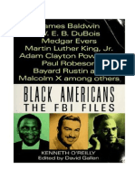 Black Americans the FBI Files