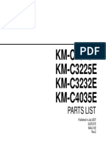 km2525-3225-3232-4035 parts