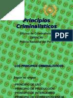 principios criminalisticos