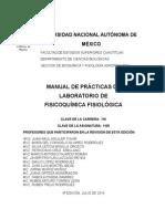 Manual de Prácticas de Fisicoquímica Fisiológica 1 Ago