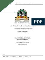 Syllabus Informatica Basica 789