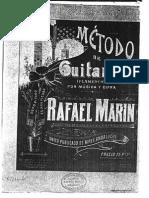 113708264 Rafael Marin Metodo de Guitarra Flamenco 1902