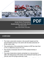Automobilies & Auto Ancillaries Setor Presentation