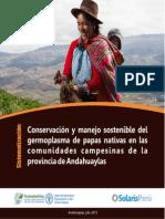 Conservación y manejo sostenible del germoplasma de papas nativas en las c o m u n i d a d e s c a m p e s i n a s d e l a provincia de Andahuaylas