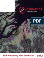 SAR Processing With Geomatica v2014