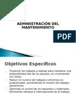 2 Administracic3b3n Del Mantenimiento