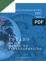 Informe sobre el desarrollo mundial