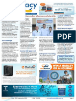 Pharmacy Daily for Fri 25 Sep 2015 - Cincottas endow pharmacy scholarship, Slow $ growth in health, EBOS annual report, Events Calendar and much more