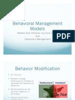 management presentation