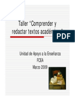 Comprender y Redactar Textos Academicos
