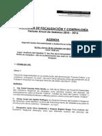 AGENDA DE LA COMISIÓN