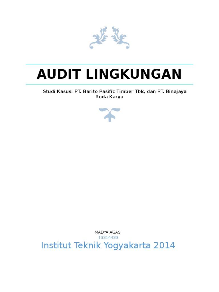thesis audit lingkungan