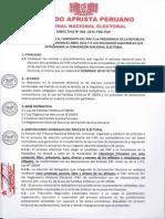 DIRECTIVA N°004-2015-TNE-PAP