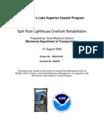 Split Rock Lighthouse Overlook Rehabilitation (306a-03-08)