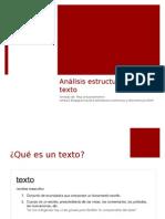 Analisis Estructural Del Texto