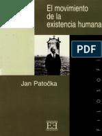 El movimiento de la existencia humana - Jan Patocka