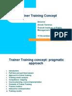 TNA4 - Trainer Training
