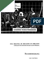 Cuadernillo de Actividades-Población