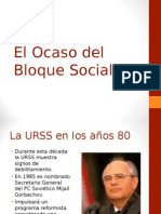 El Ocaso del Bloque Socialista.ppt