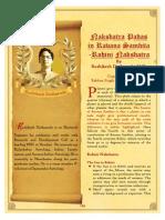 Rohini Nakshatra Padas in Ravana Samhita - Babban Kumar Singh
