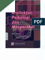 Arsitektur Psikologi Dan Masyarakat