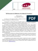 XII Encuentro Didactica de La Historia Economica 2015 22 09