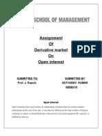 OPEN INT.assignment
