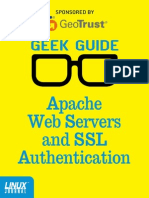 Apache Web Servers and SSL Authentication