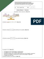 Prova 3 Bimestre - 8º D - Prof. Leandro Teles.doc